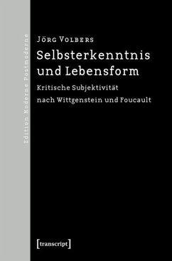Selbsterkenntnis und Lebensform (eBook, PDF) - Volbers, Jörg
