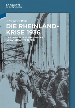Die Rheinlandkrise 1936 (eBook, PDF) - Wolz, Alexander