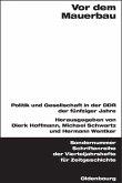 Vor dem Mauerbau (eBook, PDF)