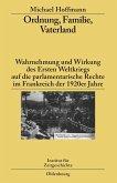 Ordnung, Familie, Vaterland (eBook, PDF)