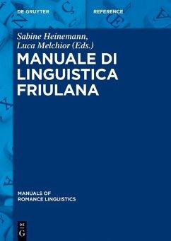 Manuale di linguistica friulana (eBook, PDF)