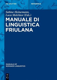 Manuale di linguistica friulana (eBook, ePUB)