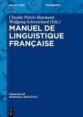 Manuel de linguistique française (eBook, ePUB)