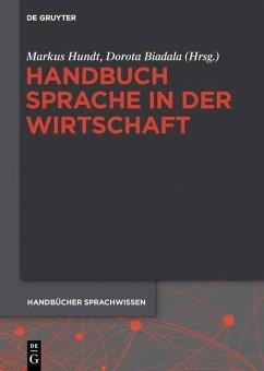 Handbuch Sprache in der Wirtschaft (eBook, PDF)