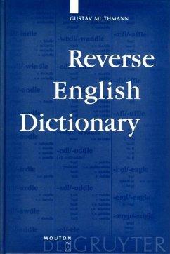 Reverse English Dictionary (eBook, PDF) - Muthmann, Gustav