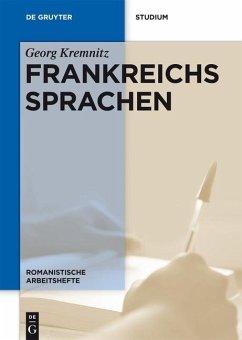 Frankreichs Sprachen (eBook, PDF) - Kremnitz, Georg
