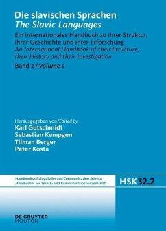 Die slavischen Sprachen / The Slavic Languages. Halbband 2 (eBook, PDF)