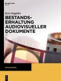 Bestandserhaltung audiovisueller Dokumente (eBook, PDF)