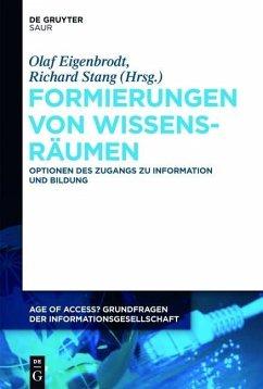 Formierungen von Wissensräumen (eBook, PDF)
