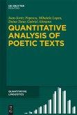 Quantitative Analysis of Poetic Texts (eBook, PDF)