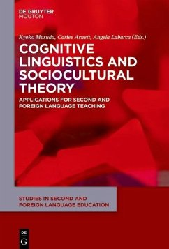 Cognitive Linguistics and Sociocultural Theory (eBook, PDF)