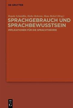 Sprachgebrauch und Sprachbewusstsein (eBook, PDF)