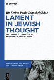 Lament in Jewish Thought (eBook, ePUB)
