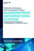 Barrierefreie Informationssysteme (eBook, ePUB)