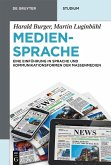 Mediensprache (eBook, ePUB)