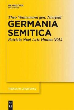 Germania Semitica (eBook, PDF) - Vennemann gen. Nierfeld, Theo