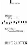 Balto-Slavic Accentual Mobility (eBook, PDF) - Olander, Thomas