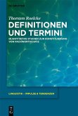 Definitionen und Termini (eBook, PDF)