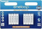 1x8 Panasonic Eneloop Micro AAA 750 mAh