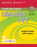 Testbank Objective PET Second Edition. Student's Book with answers with CD-ROM and Testbank