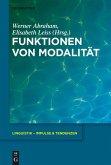 Funktionen von Modalität (eBook, PDF)