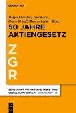 50 Jahre Aktiengesetz (eBook, ePUB)