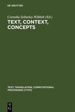 Text, Context, Concepts (eBook, PDF)