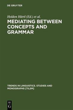 Mediating between Concepts and Grammar (eBook, PDF)