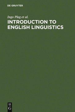 Introduction to English Linguistics (eBook, PDF) - Braun, Maria; Plag, Ingo; Schramm, Mareile; Lappe, Sabine