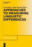 Approaches to Measuring Linguistic Differences (eBook, PDF)