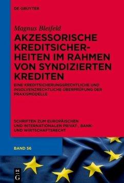 Akzessorische Kreditsicherheiten im Rahmen von syndizierten Krediten (eBook, PDF) - Bleifeld, Magnus