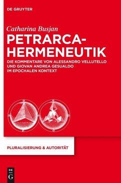 Moralphilosophie in den Petrarca-Kommentaren des 16. Jahrhunderts (eBook, PDF) - Busjan, Catharina