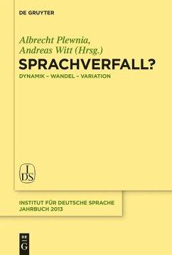 Sprachverfall? (eBook, PDF)