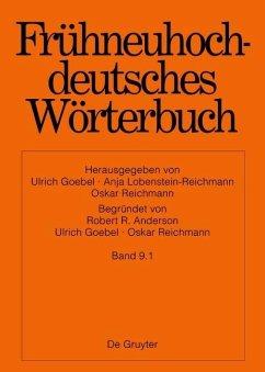 Frühneuhochdeutsches Wörterbuch. Bd. 9.1 - l - maszeug (eBook, PDF)