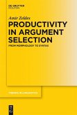 Productivity in Argument Selection (eBook, PDF)