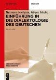 Einführung in die Dialektologie des Deutschen (eBook, ePUB)