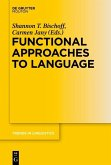 Functional Approaches to Language (eBook, PDF)