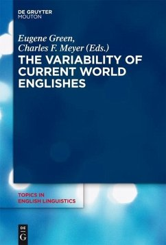 The Variability of Current World Englishes (eBook, ePUB)