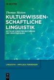 Kulturwissenschaftliche Linguistik (eBook, PDF)
