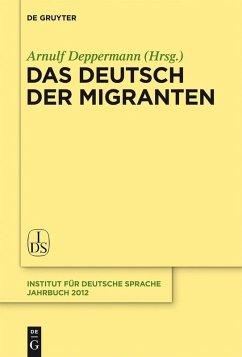 Das Deutsch der Migranten (eBook, PDF)