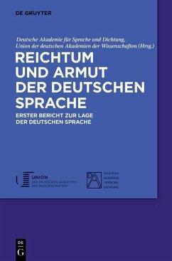 Reichtum und Armut der deutschen Sprache (eBook, PDF)