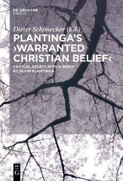 Plantinga's 'Warranted Christian Belief' (eBook, PDF)