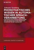 Phonotaktisches Wissen (eBook, ePUB)