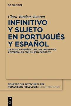 Infinitivo y sujeto en portugués y español (eBook, PDF) - Vanderschueren, Clara