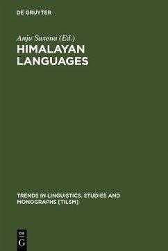 Himalayan Languages (eBook, PDF)