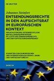 Entsendungsrechte in den Aufsichtsrat im europäischen Kontext (eBook, PDF)