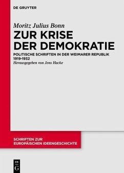 Ausgewählte politische Schriften (eBook, ePUB) - Bonn, Julius Moritz