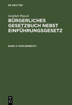 Familienrecht (eBook, PDF)