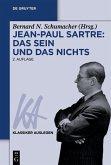 Jean-Paul Sartre: Das Sein und das Nichts (eBook, ePUB)