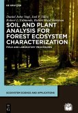 Soil and Plant Analysis for Forest Ecosystem Characterization (eBook, ePUB)